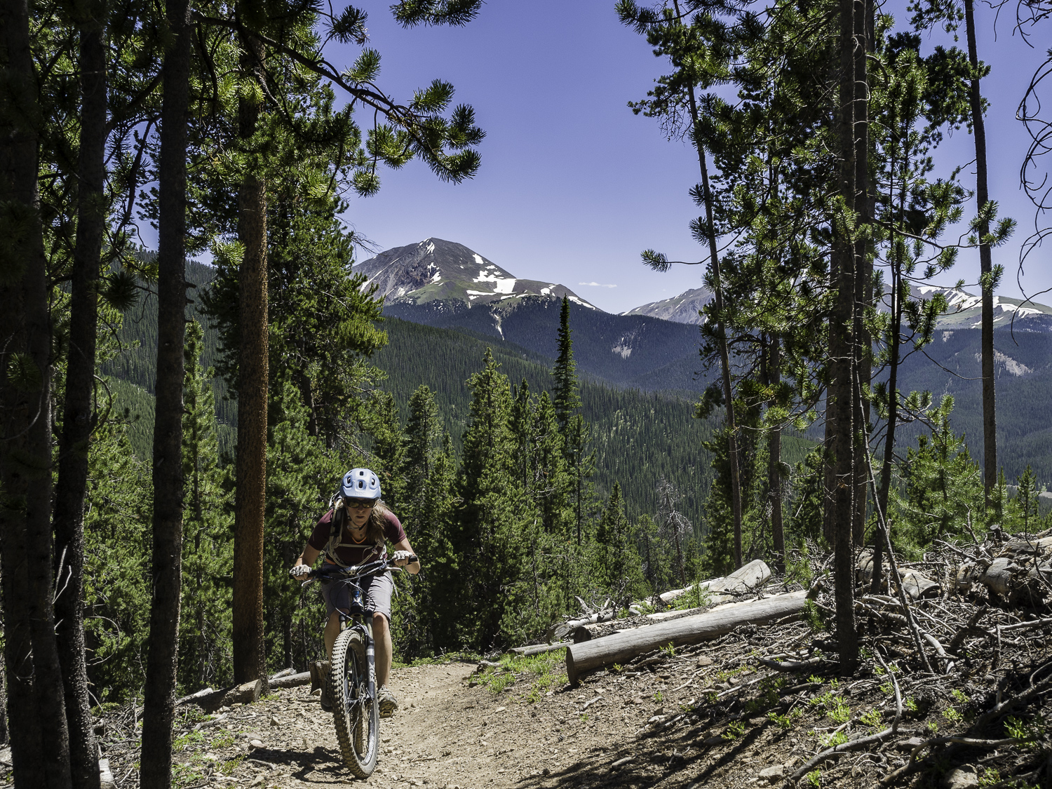 The climb before the goods - Colorado Trail: Segment 6