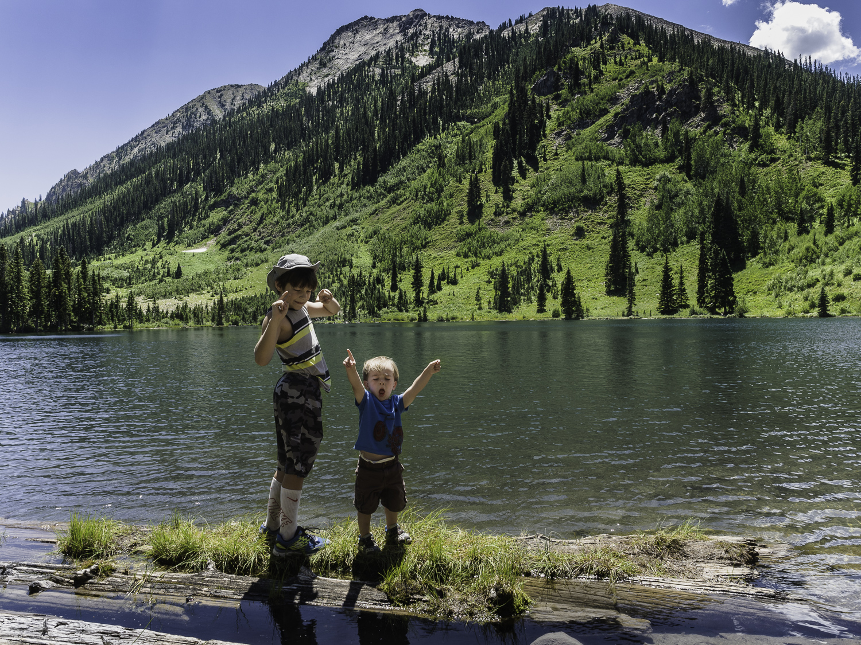 Goofs - Dollar Lake - Brodie & Liam