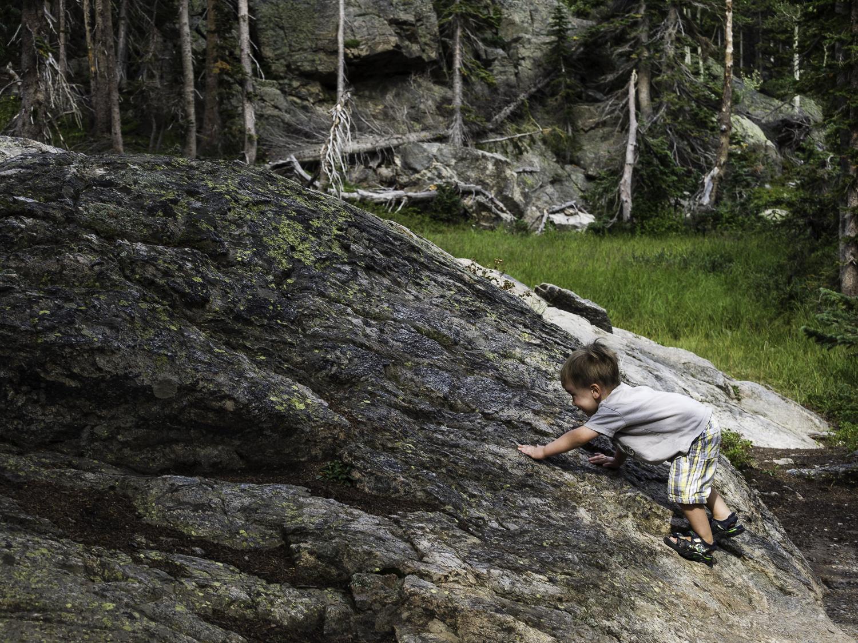 Bouldering - RMNP, CO