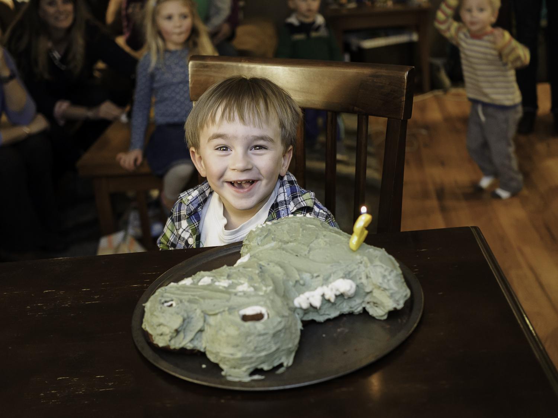 Happy Birthday Big Man - Thanks Mom! For My Dino Cake