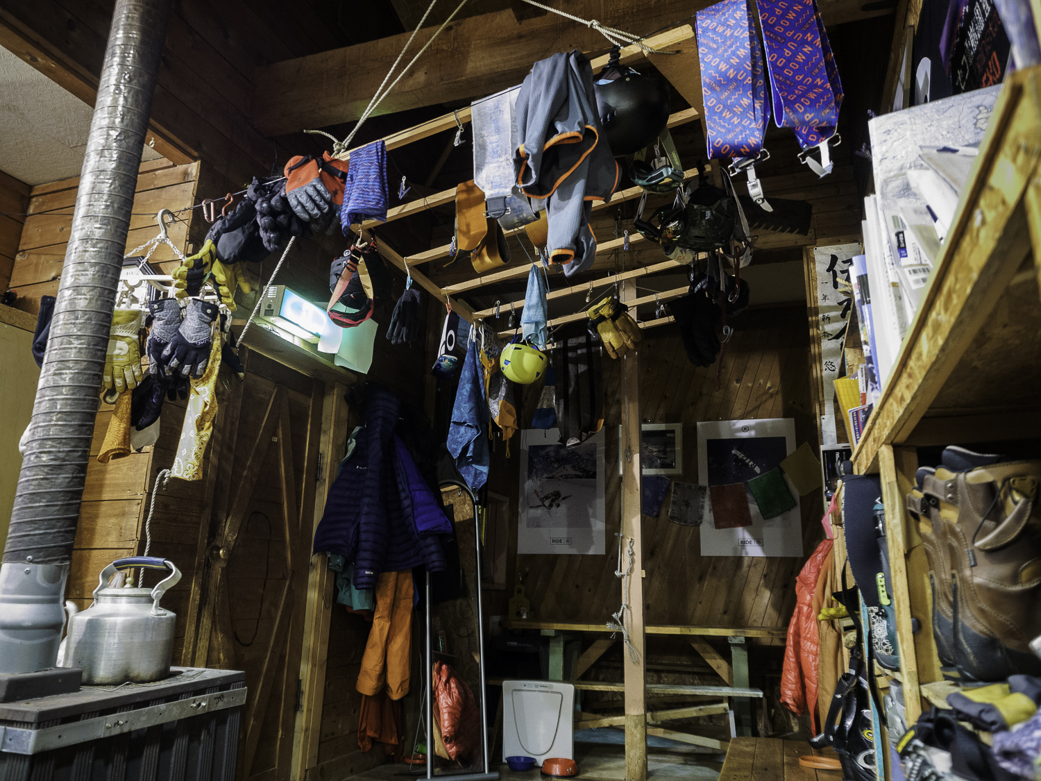 Time to Dry Gear before Tomorrows Tour - Woodpeckers Lodge