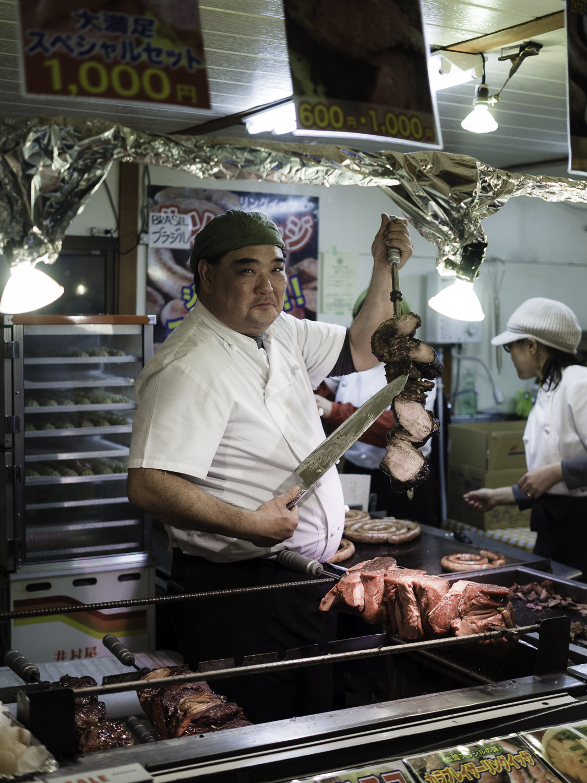 Street Meat - Sapporo Ice Festival