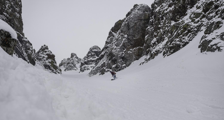It was a Couloir Skiing Kinda Trip - Kristin