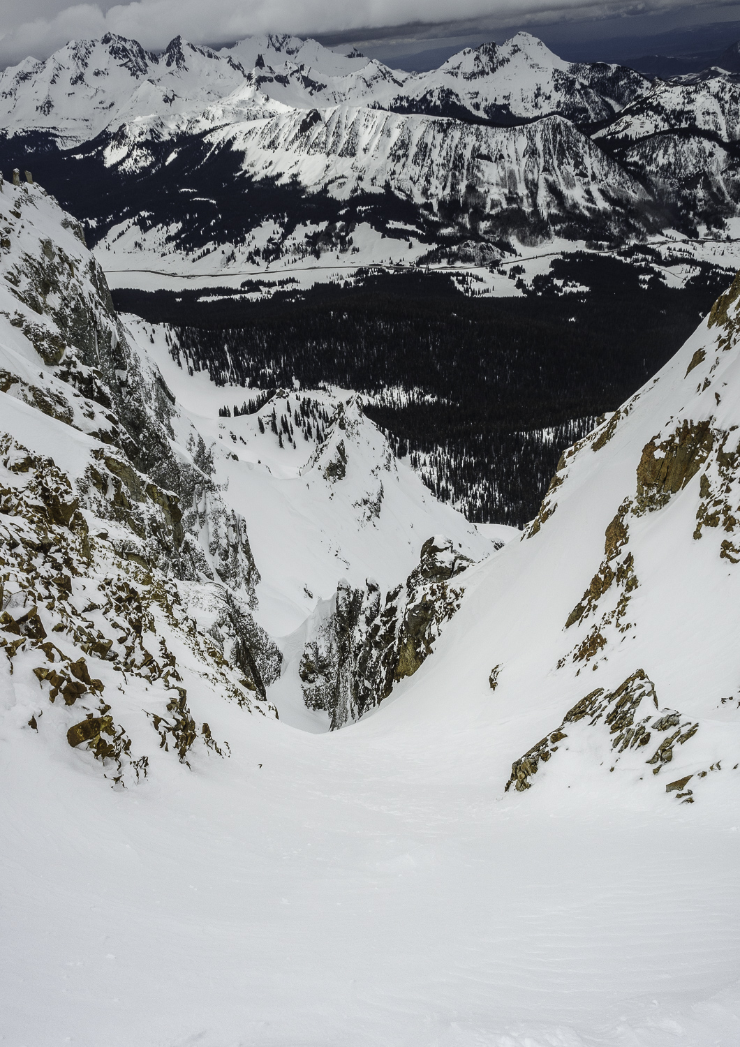 """Steep, Deep and a Roadmap Required - The """"Illusion"""" Couloir"""