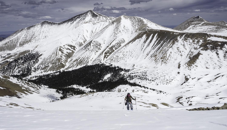 Mt. Antero Looms Behind