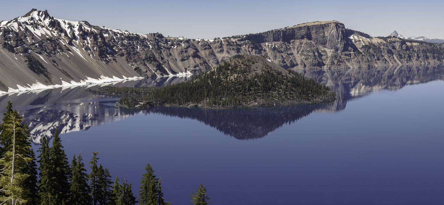 Crater Lake Panorama (6 merged frames) - Crater Lake - Oregon