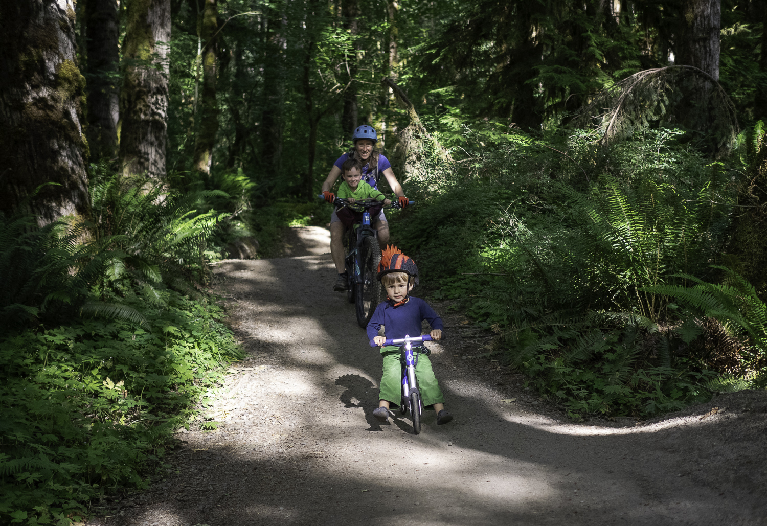 We Found Mom - Sandy Ridge Mtb Trails, OR
