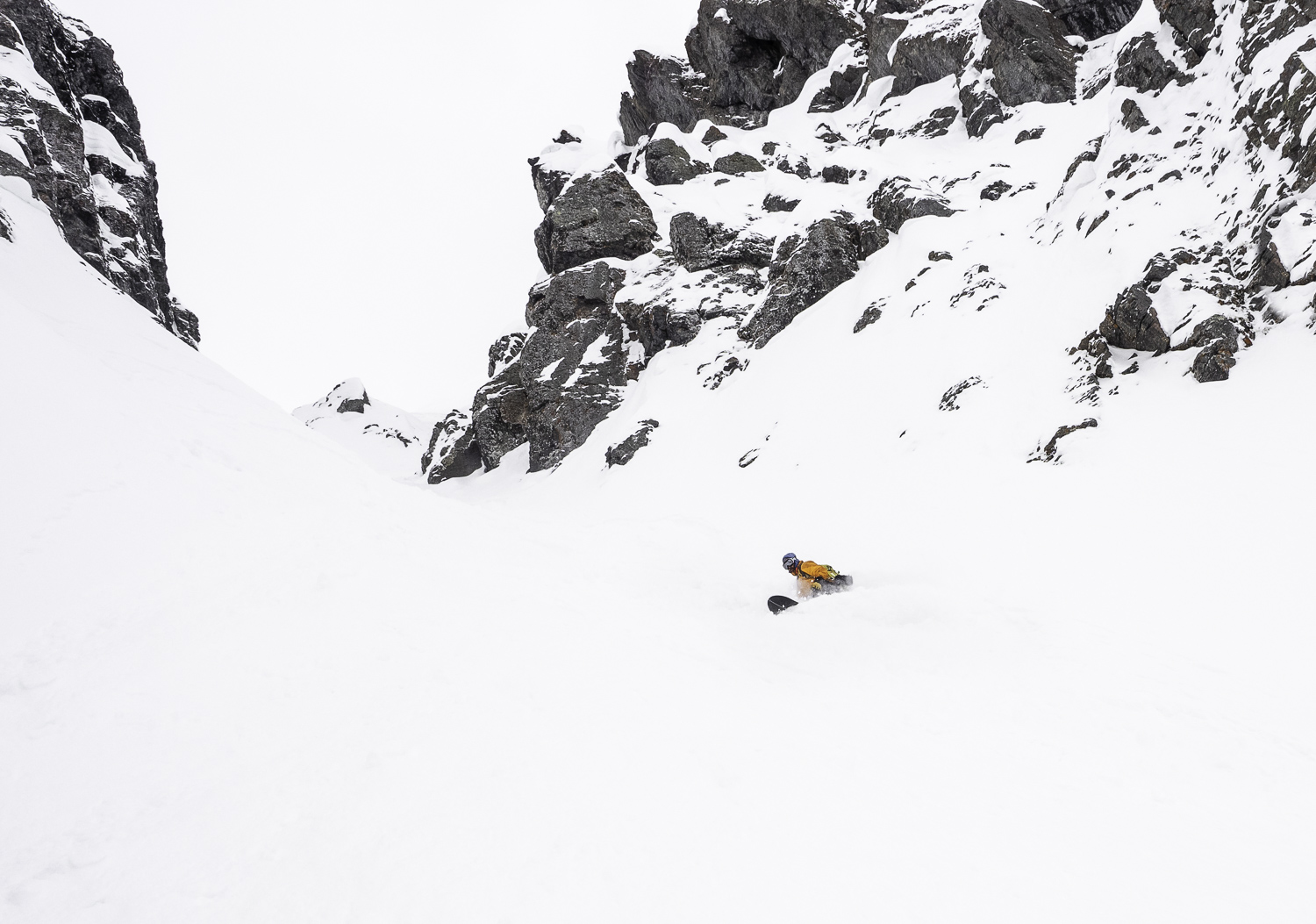 Spring Pow on the Shaddy Sides - Todd