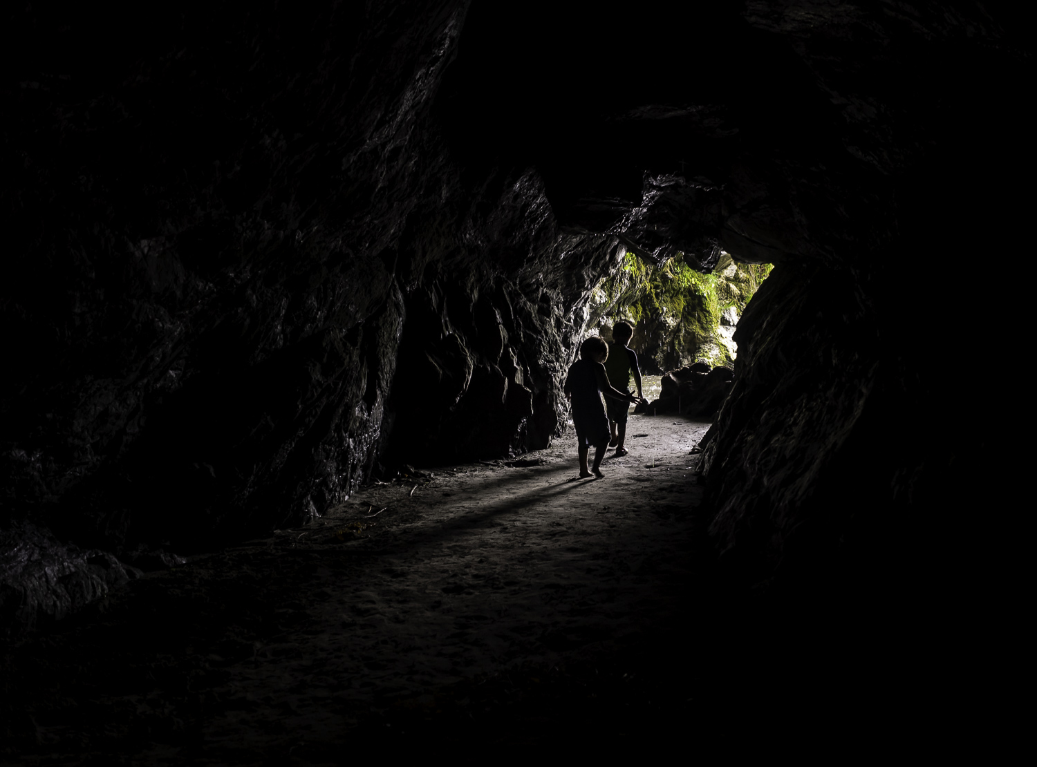 Exploring Oceanside Caves - Trinidad, CA