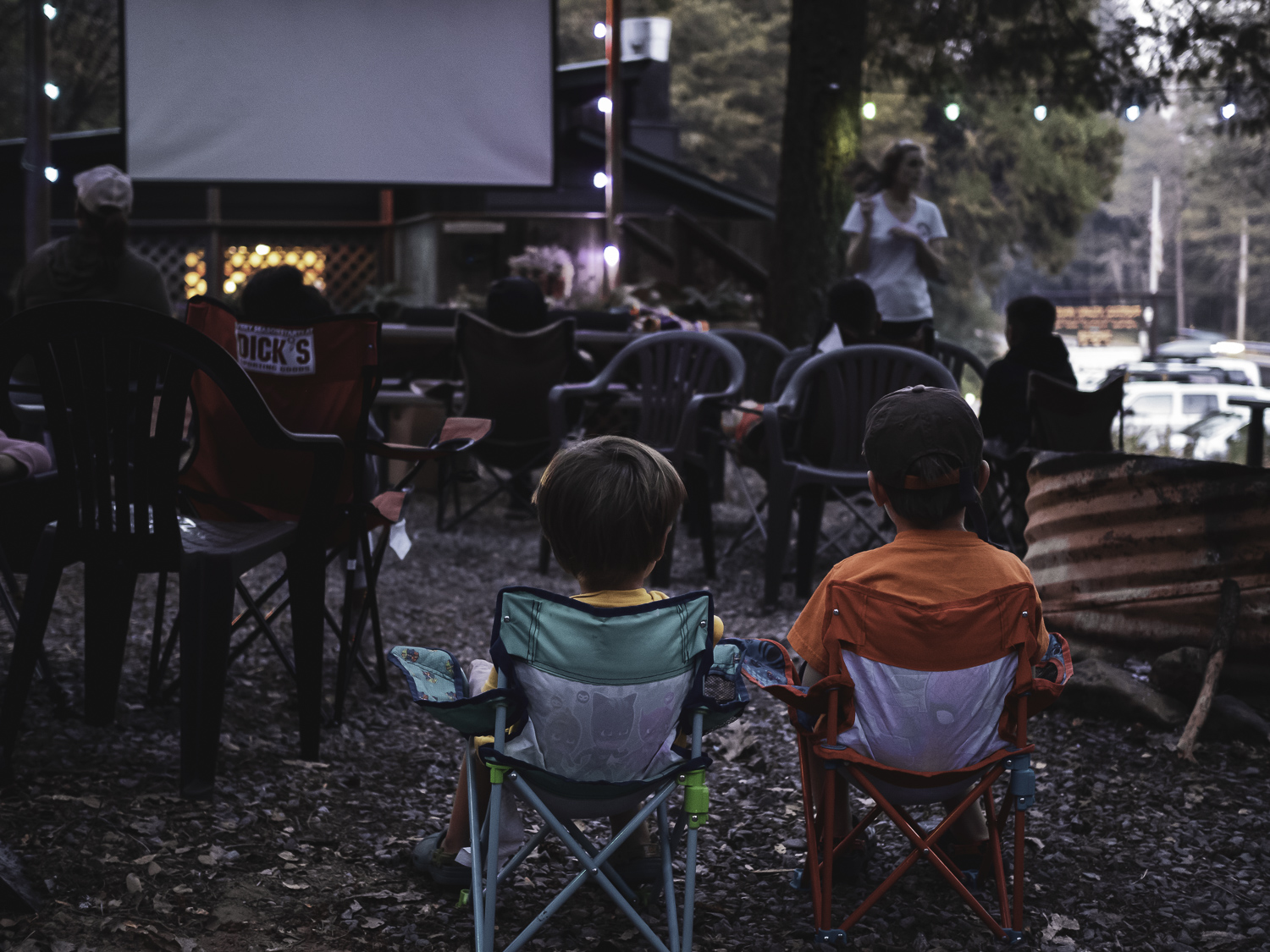 Movie Night - Indian Valley Outpost, CA