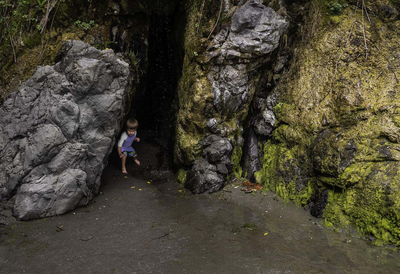 Deadend Cave - Trinidad, CA
