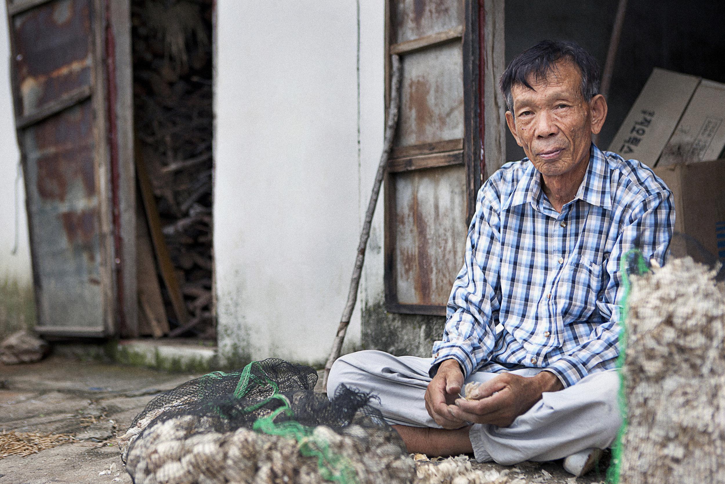 Garlic Farmer in Namhae