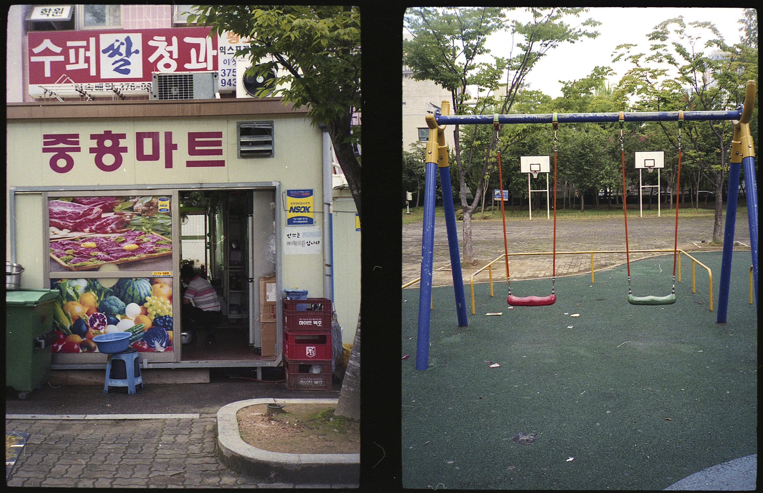 Mini Mart and Playground