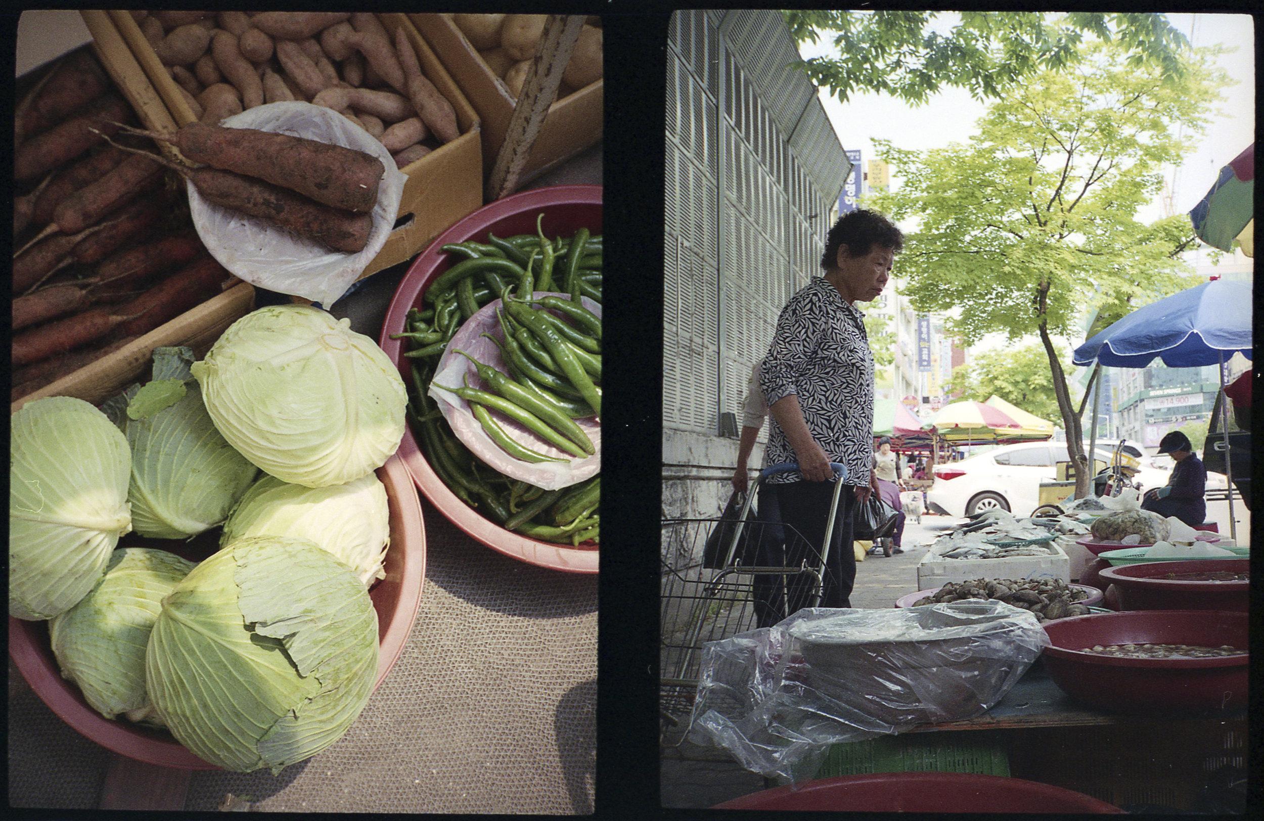 Fresh Vegetable Shopping