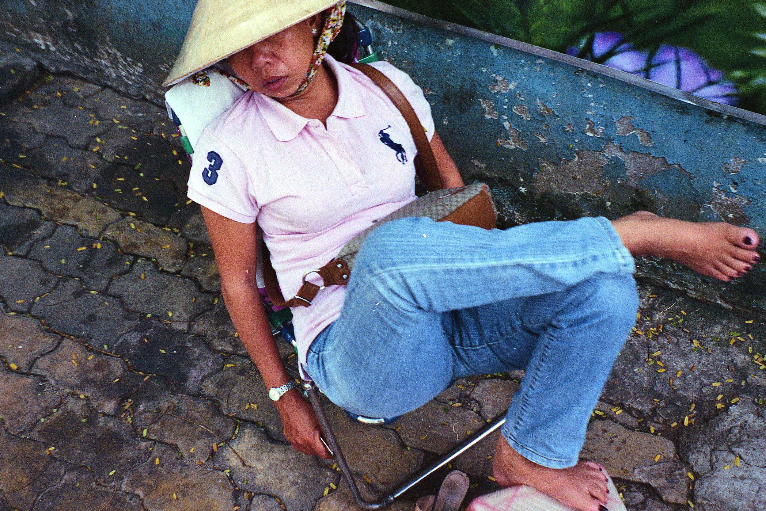Nap Time in Saigon