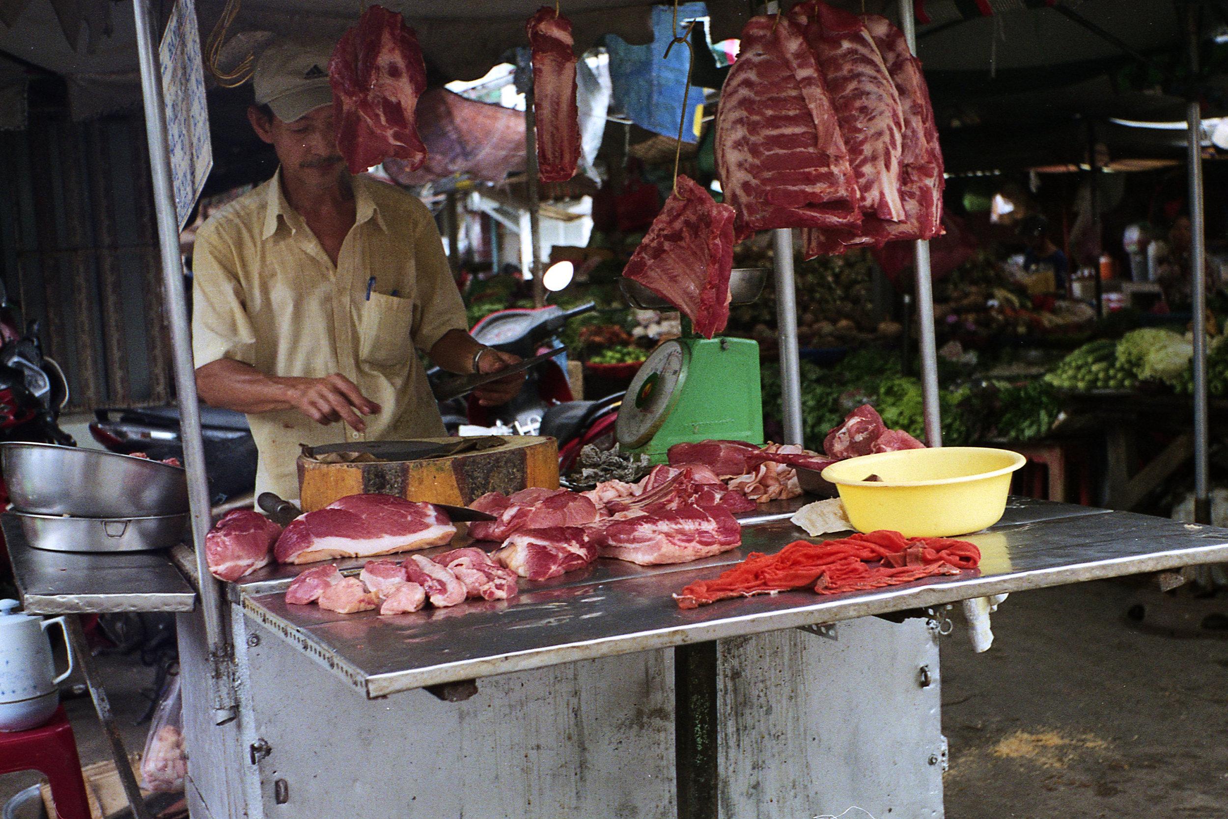 Butcher in Saigon