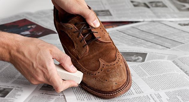 J. Crew Men's Shoe Care
