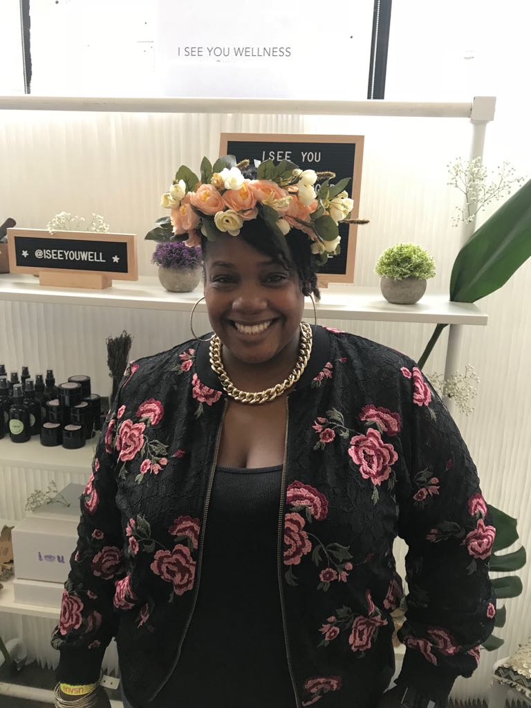 Best Vendor - @iseeyouwellness was a welcomed calm to my storm. They were super informative, knowledgeable, and budget friendly.