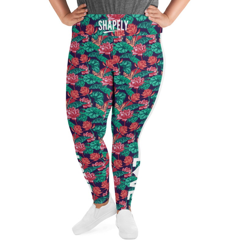 Love Yourself Floral Legging