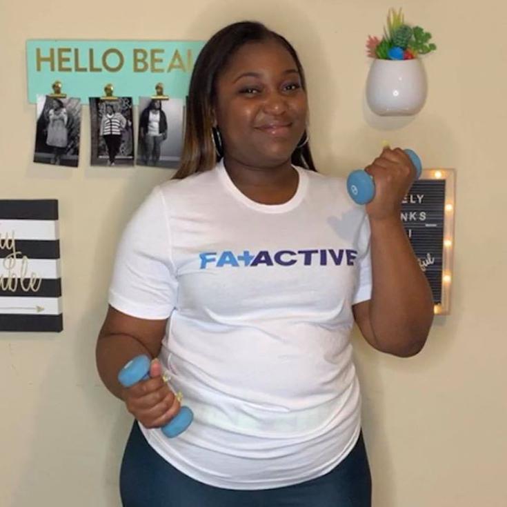 Fat + Active Tee