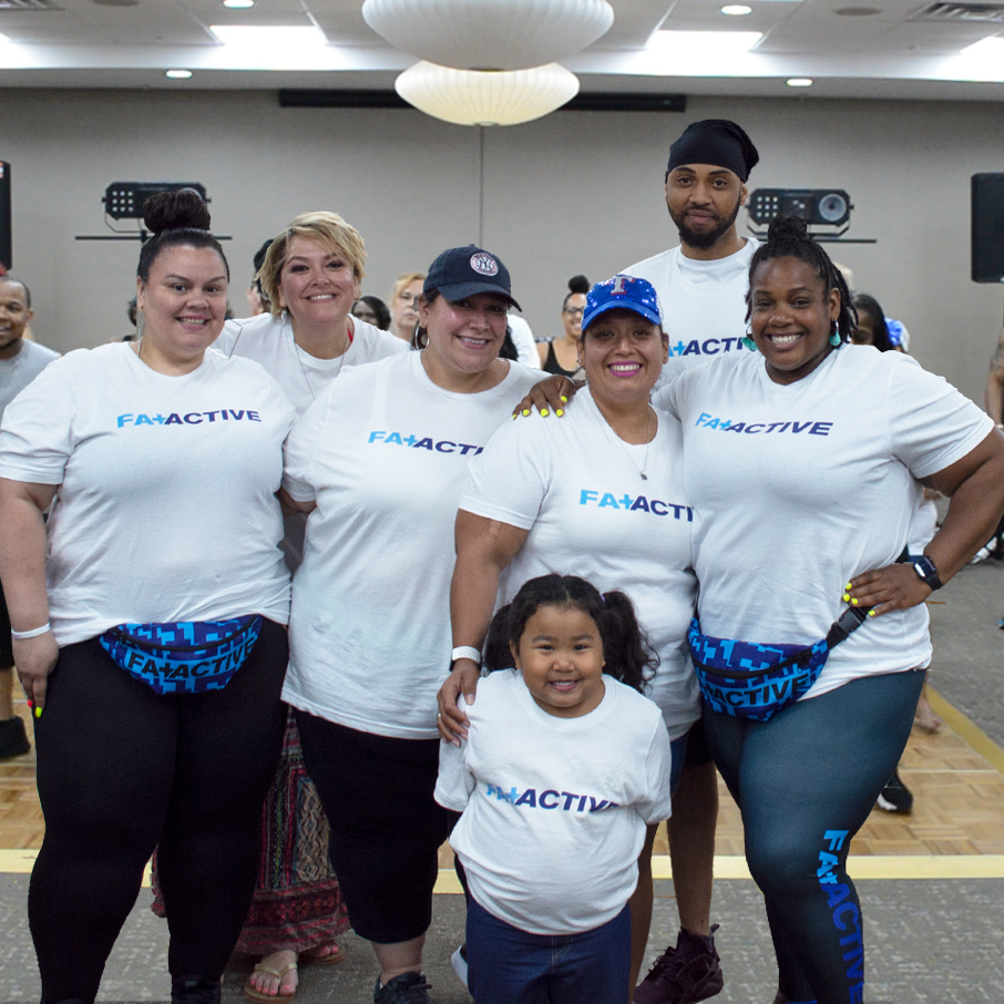 Fat + Active Group Photo