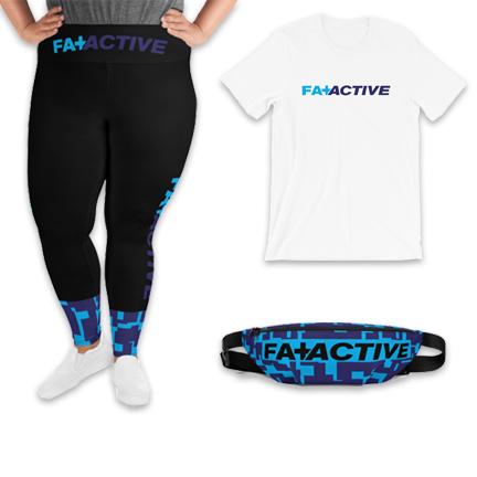 Fat + Active Three Piece Set