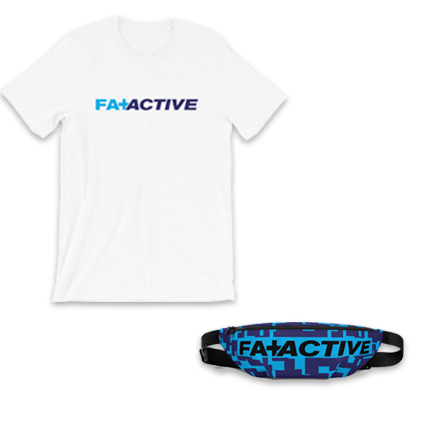 Fat + Active Tee and Fanny Set