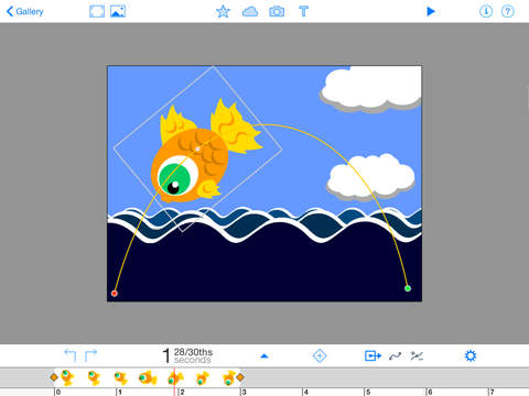 The Composition Editor allows you to use all of the DoInk Animation tools. You can use objects that you created or even use prop from our library.