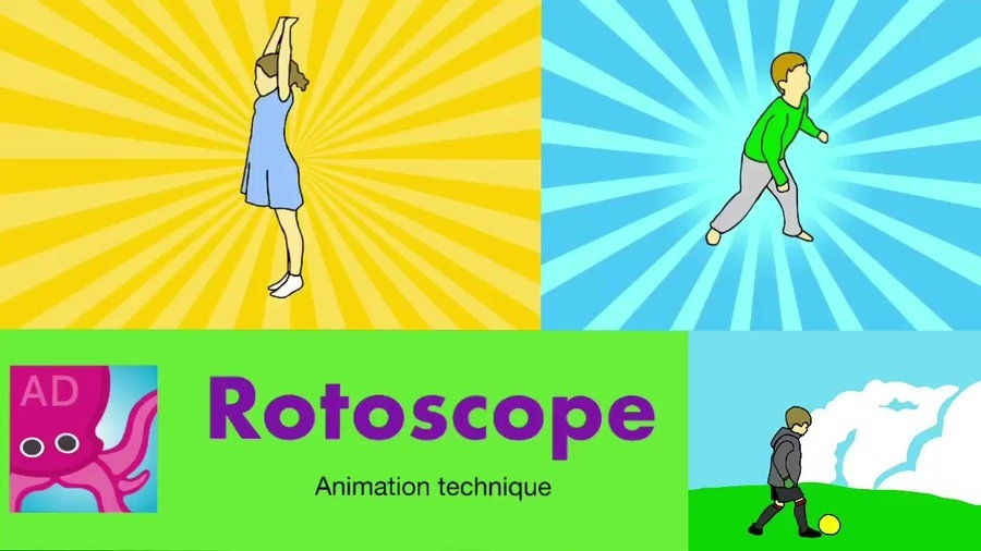 Rotoscoping or tracing allows you to create drawings or animations based on real pictures or videos. They are incredibly realistic
