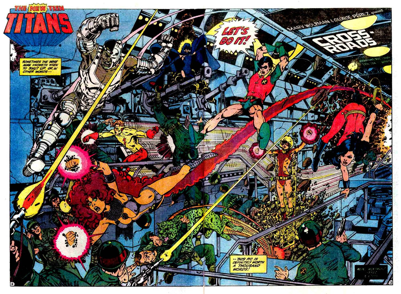 """Teen Titans"" -George Perez"