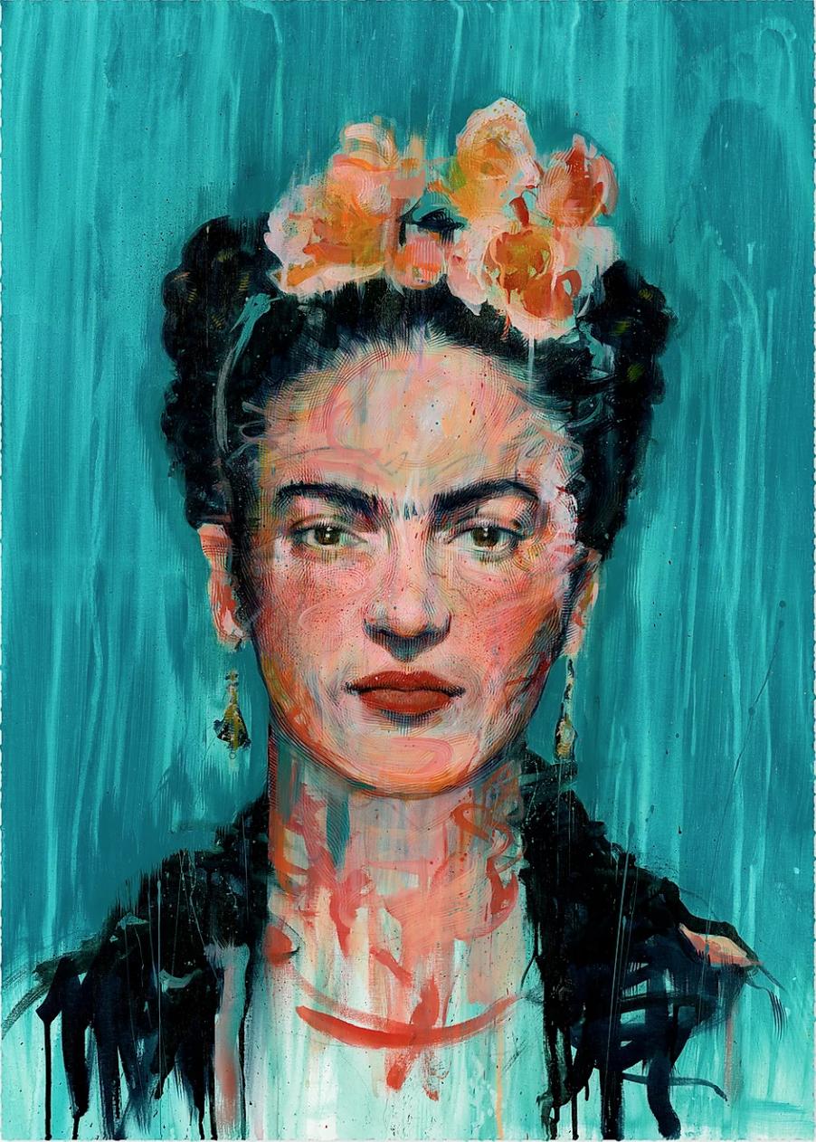Carne Griffiths Frida Kahlo Artsnug