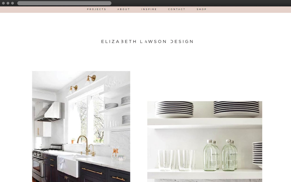 Elizabeth lawson design - My Duties: PSD to HTML / HTML5 / CSS3 / JavaScript / Responsive / WordPress / PHP & MySQLelizabethlawsondesign.com