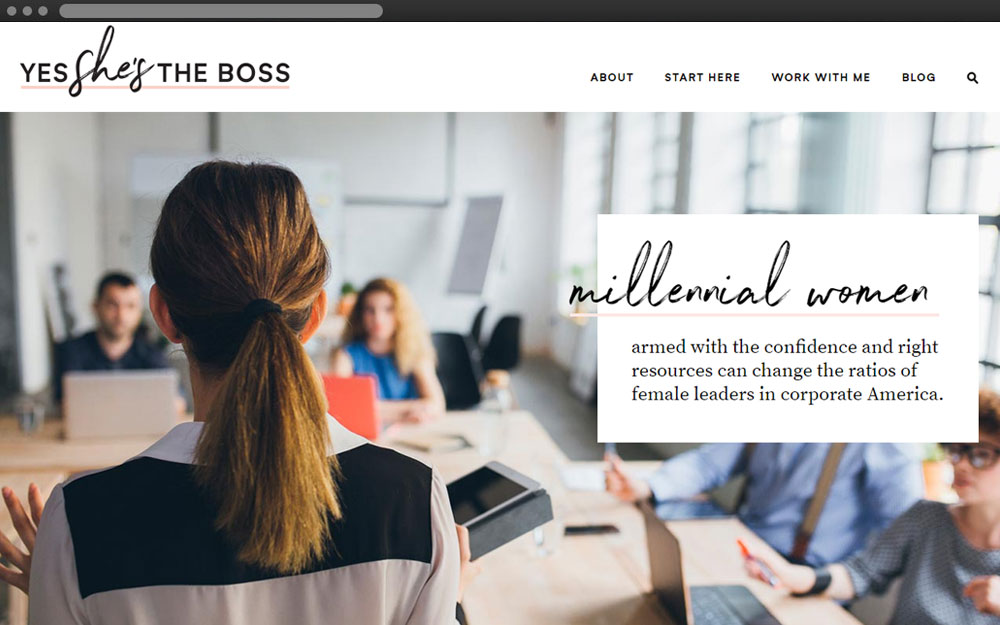 yes, she's the boss - My Duties: PSD to HTML / HTML5 / CSS3 / JavaScript / Responsive / WordPress / PHP & MySQLyesshestheboss.com