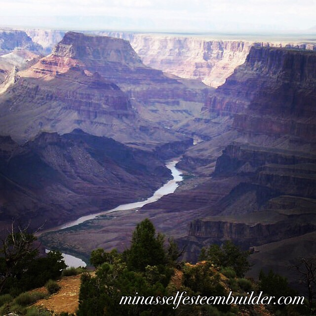 I am in awe of the power of the Universe aren't you? The mighty Colorado river created this Canyon. What can the Universe do for you?