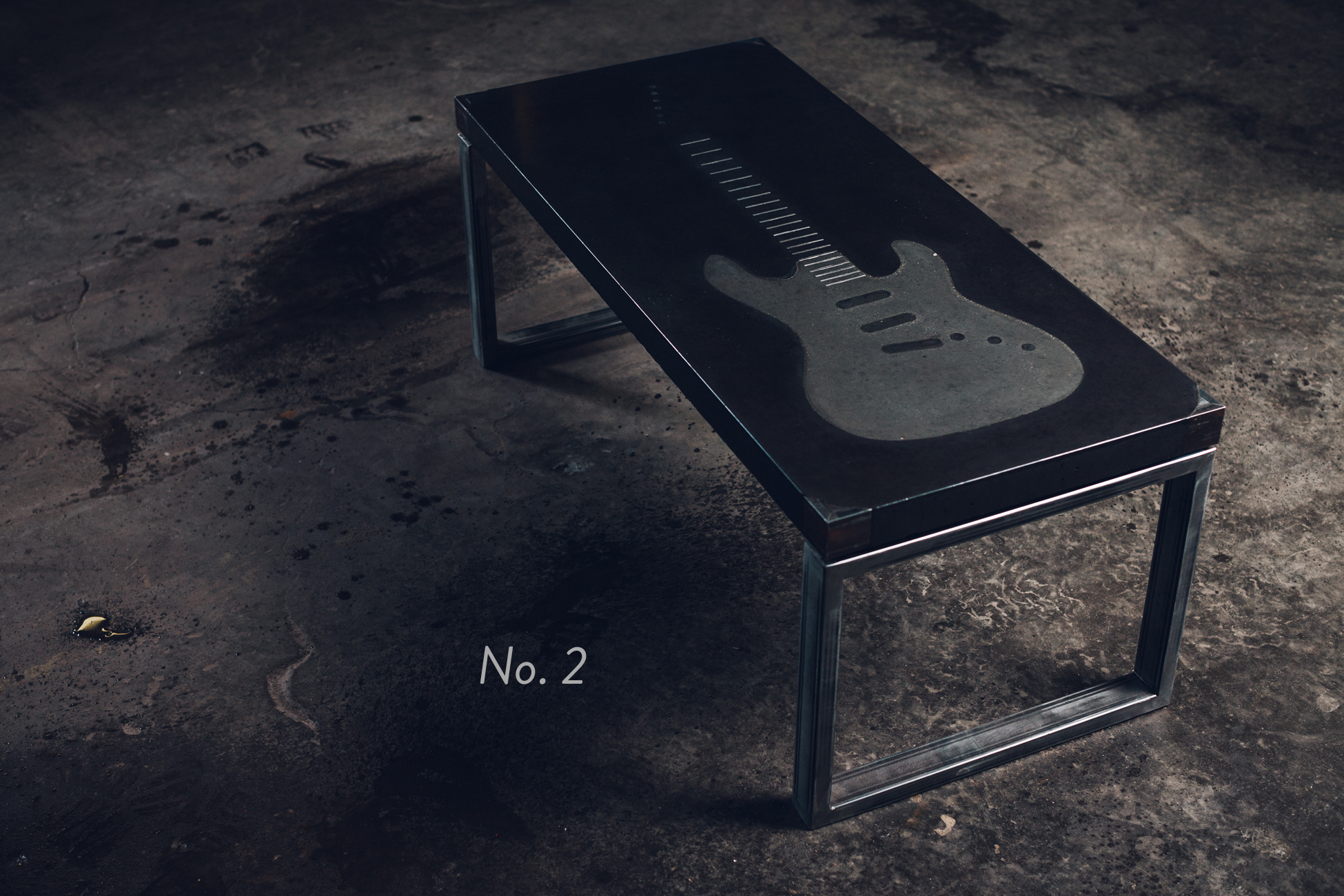 No. 2- Guitar Coffee Table