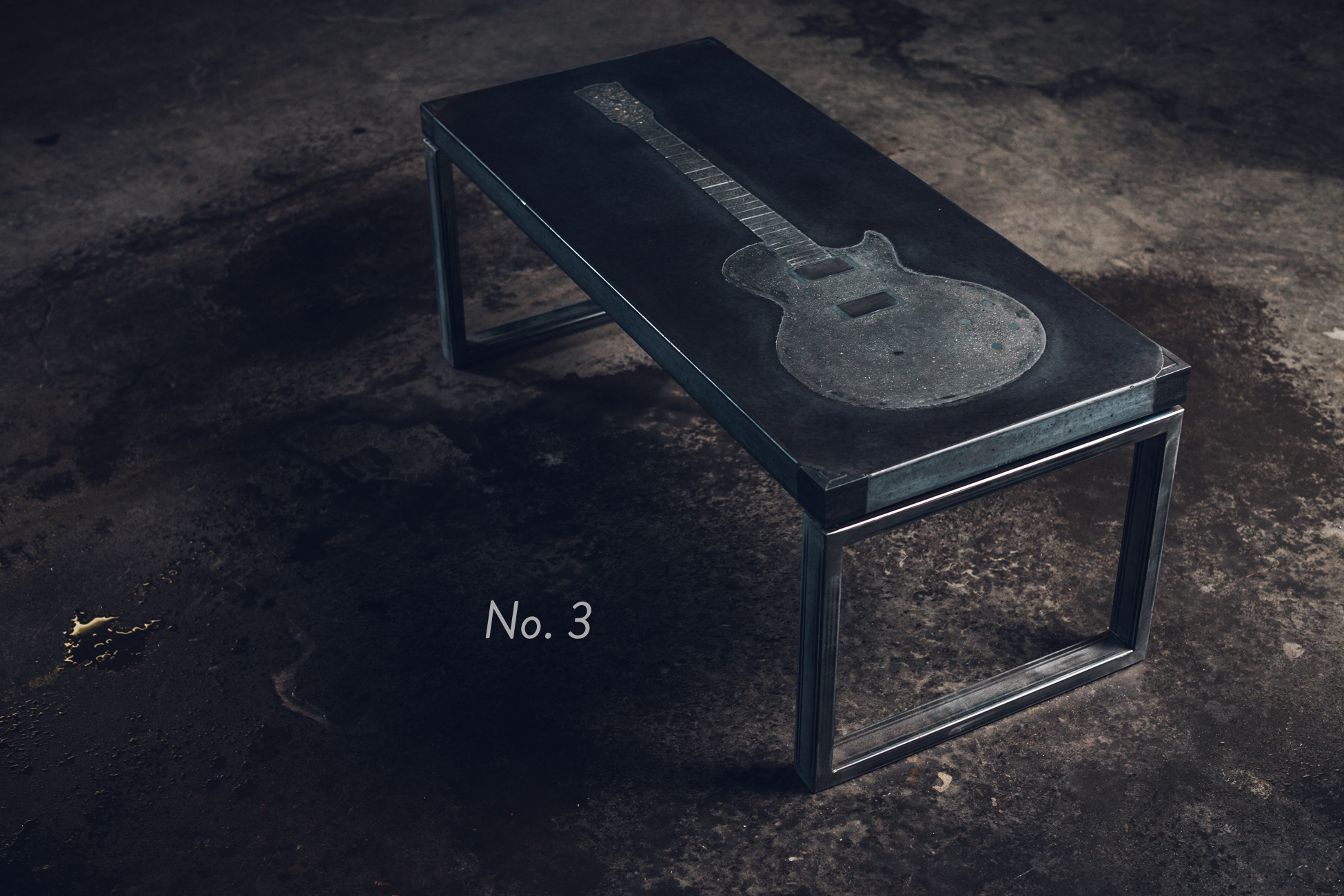 No. 3 - Guitar Coffee Table