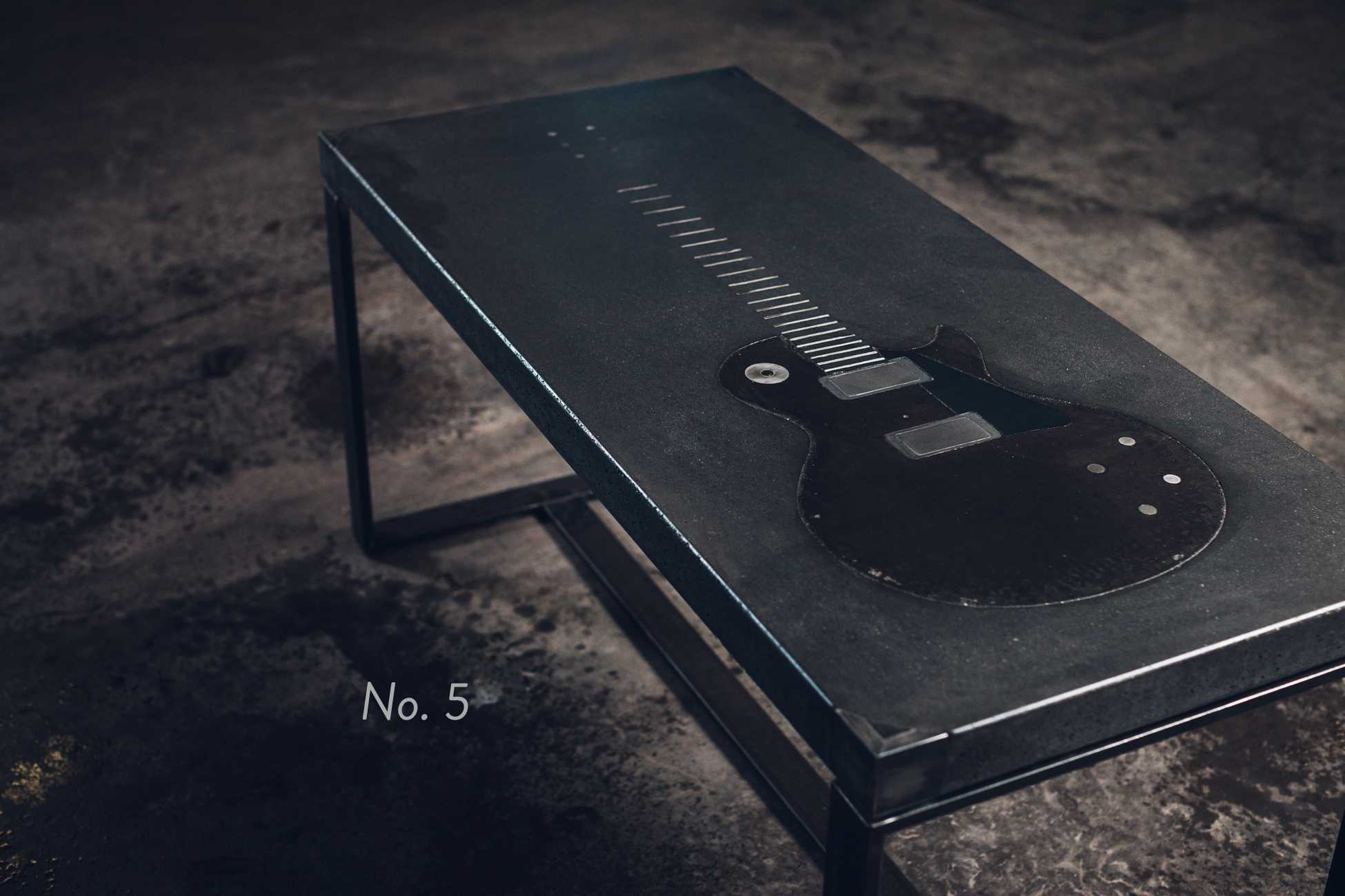 No. 5 - Guitar Coffee Table