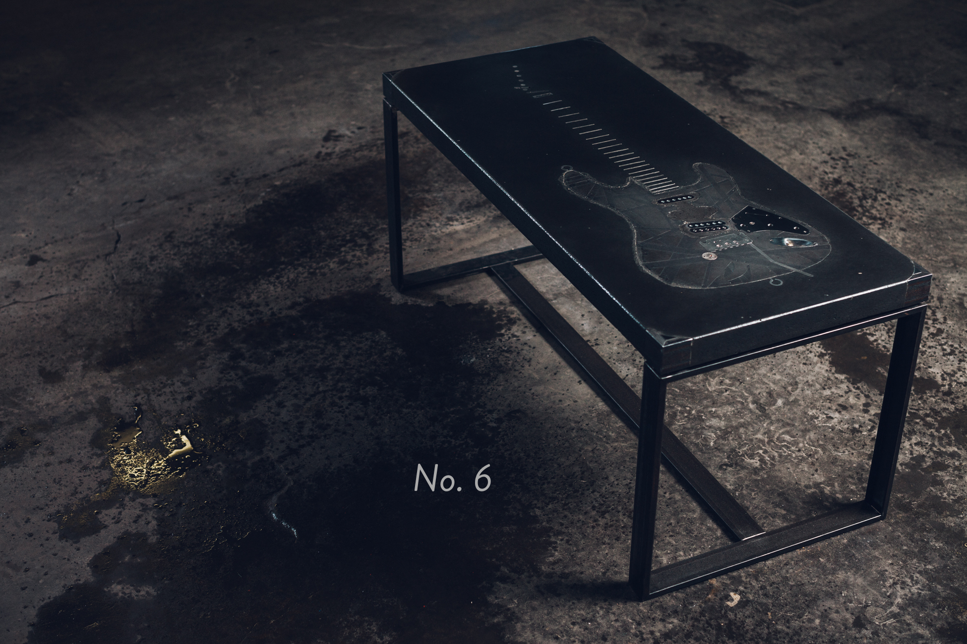No. 6 -  Guitar Coffee Table
