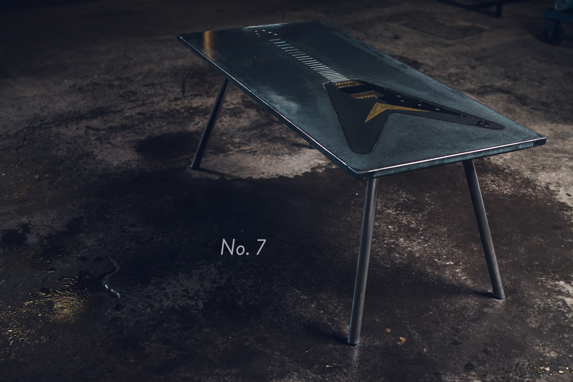 No. 7 - Guitar Coffee Table