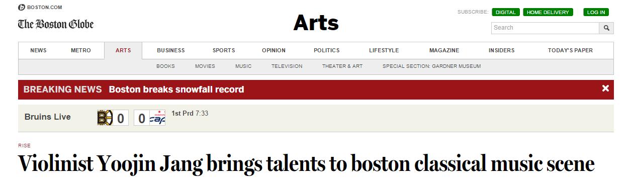 """Click! """"The Boston Globe"""""""