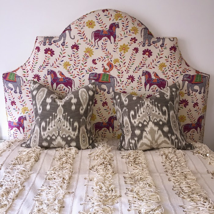 Ballard Designs Custom Upholstery Service, Ballard Designs Custom Upholstered Kate Headboard