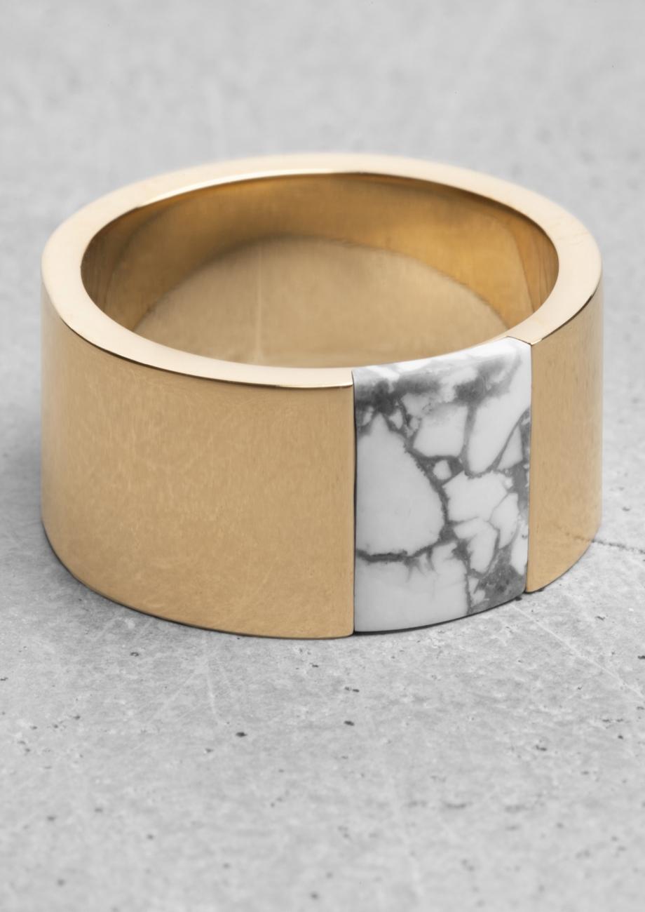 Lara Melchior Stone Ring