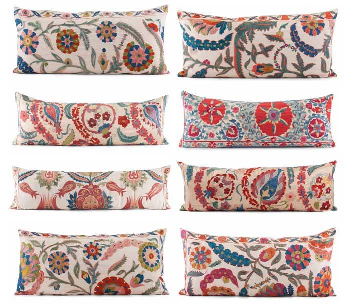 Furbish Suzani Statement Pillows