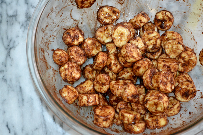 Dried Cinnamon Bananas