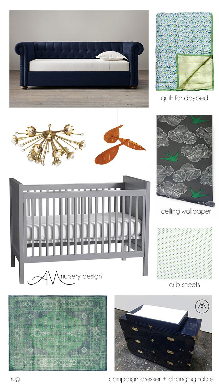 Ashley Manfred Nursery Room Design