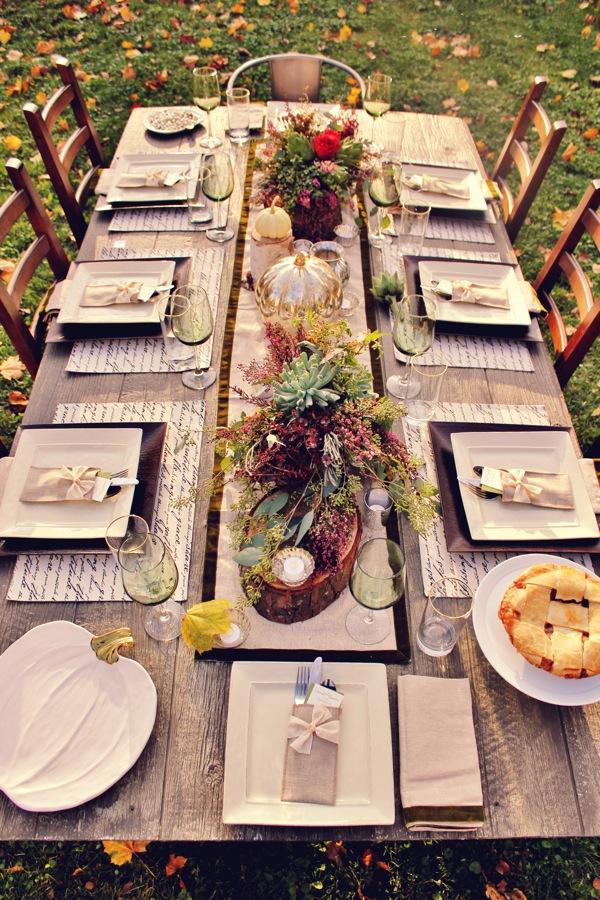 Beautiful Fall Table Inspiration