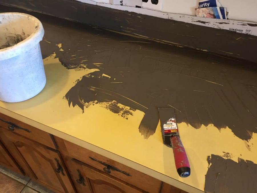 Concrete Counter Top DIY