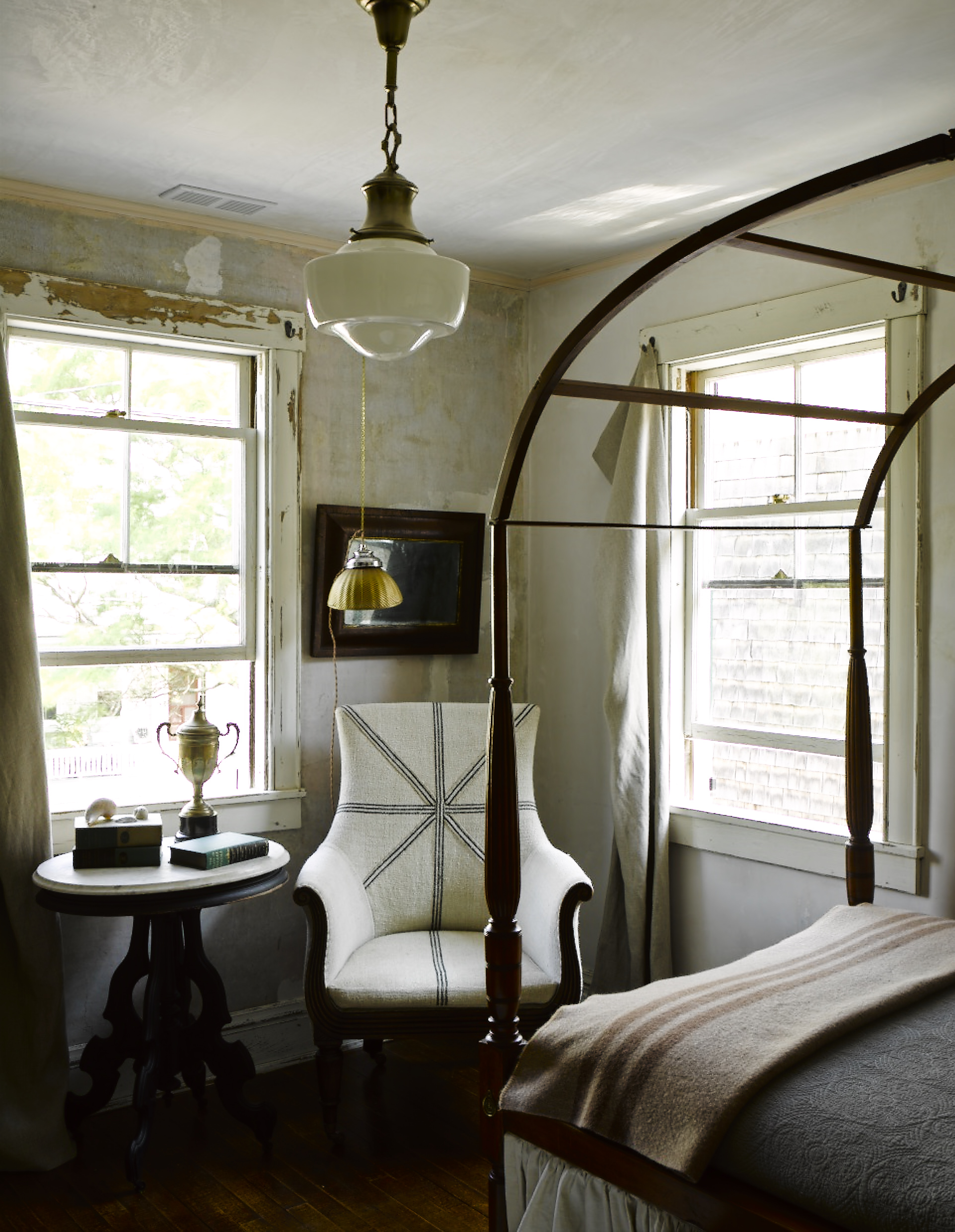 Ken Fulk Provinceton Hook and Grommet Curtain