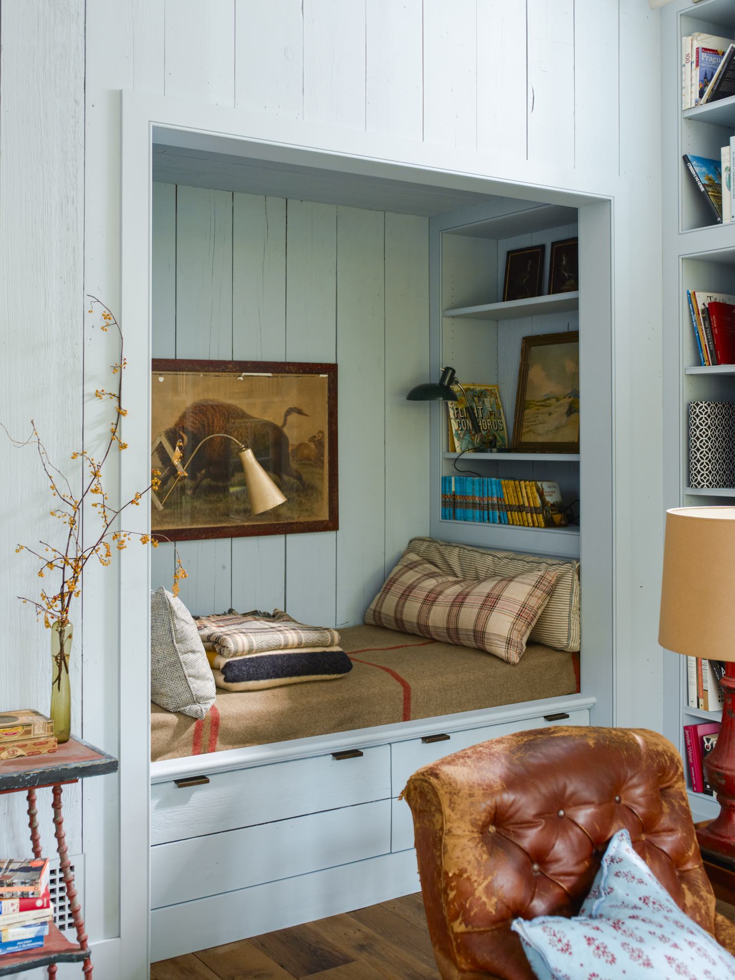 Rita Konig Mill Valley Bed nook