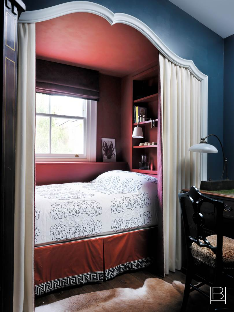 Beata Heuman Bedroom Nook